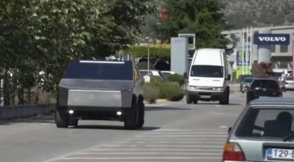 Video: Replika Tesle Cybertruck iz Mostara