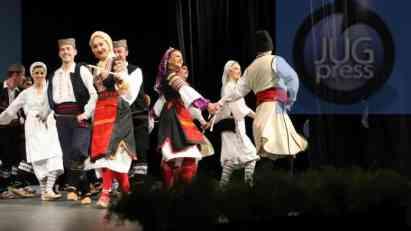 """Vidovdanski koncert vojnog folklornog ansambla """" Šajkača"""" iz Niša i """" Venca"""" sa Kosova"""