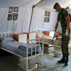 Vojska Srbije formirala poljsku bolnicu u Novom Pazaru: Više od 100 kreveta za obolele od korone (FOTO)