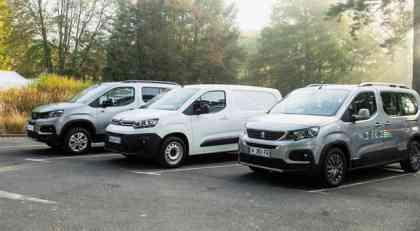 Vrele Gume test: Peugeot Partner i Citroen Berlingo VU