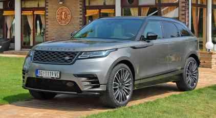 Vrele Gume test: Range Rover Velar V6 3.0 D300
