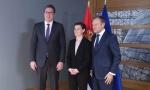 Vučić: Nastavak dijaloga moguć ako Priština povuče nerazumne odluke; Brnabić: EU je zbir vrednosti, ne ćup novca