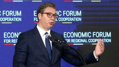 Vučić: Srbija od Nemačke očekuje podršku u dijalogu sa Prištinom