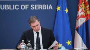 Vučić: Tobož nezavisni mediji imaju istu naslovnu stranu sa Miškovićem, vraćaju nas u prošlost