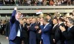 Vučić: Učili smo iz poraza zato smo pobednici (FOTO)