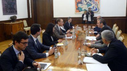 Vučić sa predstavnicima MMF-a – Srbija posvećena ekonomskim reformama