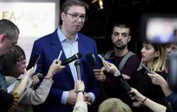 Vučić zaoštrio retoriku zbog definitivnog gubitka Kosova