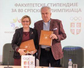 ZA OBRAZOVANJE SPORTISTA: Fakultetske stipendije za 80 srpskih olimpijaca