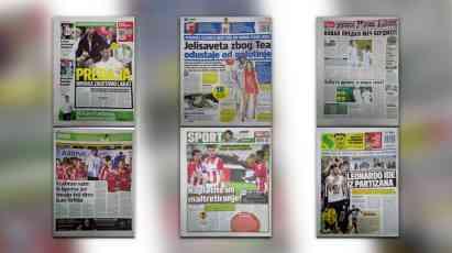 ZADNJE STRANE DNEVNIH NOVINA: Prelistavanje sportske štampe za 13. jul!