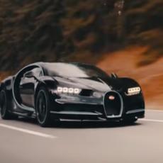 ZVER OD MAŠINE! Pogledajte kako Bugatti Chiron za 32,6 sekundi ubrzava do 400 km/h! (VIDEO)