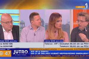 Željko Hubač: Ovde nije pitanje Željka Hubača već prava na javnu reč, satisfakciju nečega što je dobro i osudu nečega što nije