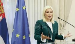 Zorana Mihajlović: Niko neće biti kažnjen ako ne kaže borkinja